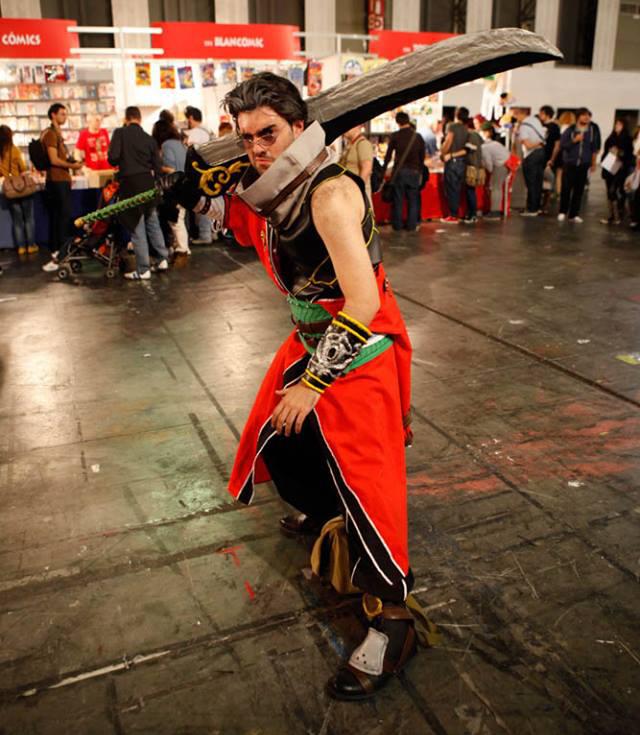 Auron cosplay